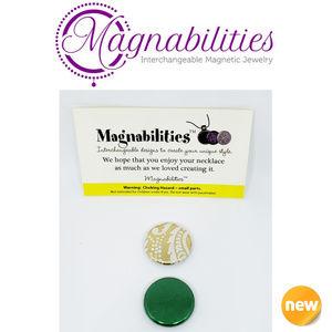 2 NEW Magnabilities Jewelry Inserts